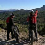 Guided mtb tours available with local expert guide