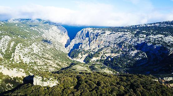 Itinerario MTB in Sardegna: Supramonte
