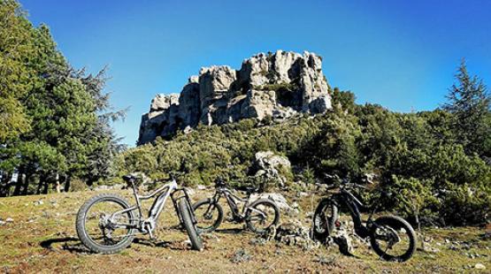 Itinerario MTB in Sardegna: Monte Novo San Giovanni