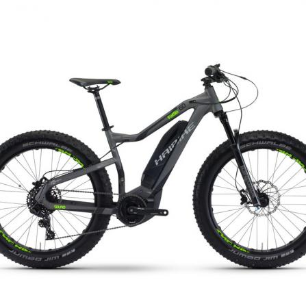 E-Bike Rental Haibike Sduro in Sardinia