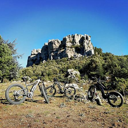 MTB Itinerary in Sardinia: Monte Novo San Giovanni