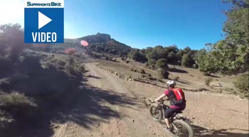 """Video: MTB route in Supramonte, Sardinia, """"Intro e Monte"""""""