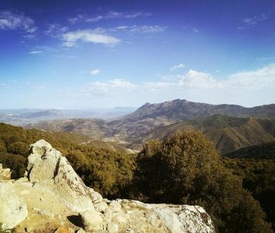 Panoramic top-view in Sirilò